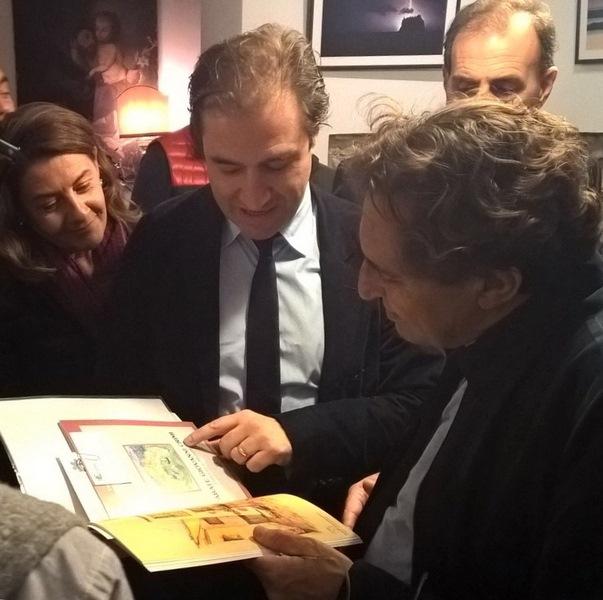 Il Presidente Crocetta in visita presso la sede della Fondazione Crimi