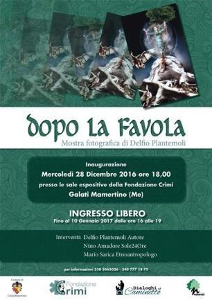 Dopo la favola - Delfio Plantemoli - Fondazione Crimi