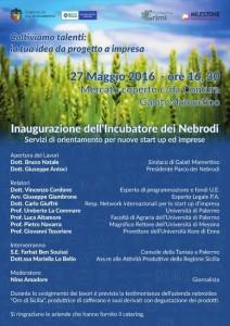 Inaugurazione Incubatore dei Nebrodi
