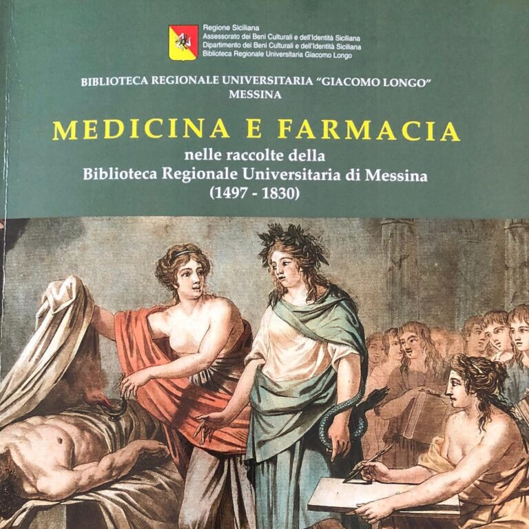Presentazione del catalogo Medicina e Farmacia dal 1497 al 1830