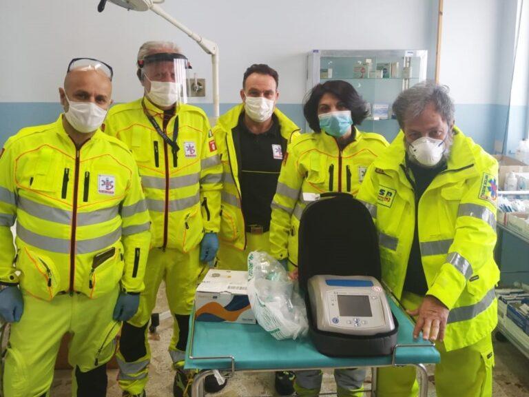 donazione ventilatore polmonare emergenza COVID
